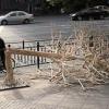 Дерево из китайских палочек
